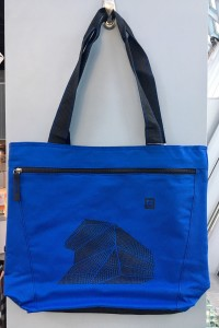 SPL Building Tote Bag - Blue