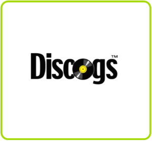 discogs logo green